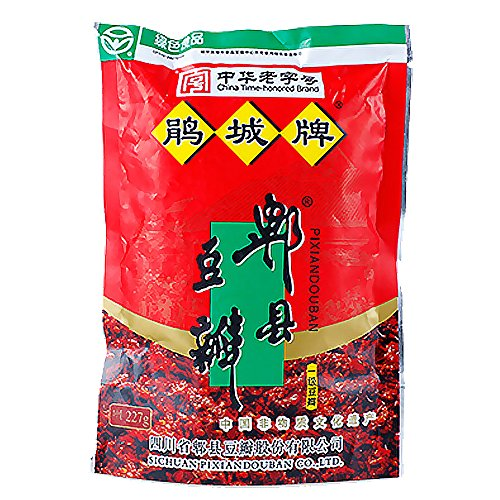 chili sauce Broad Bean Paste - Douban pixian,Asian cuisine for one of the special chili sauce (227g)