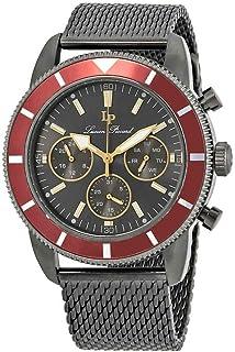 Lucien Piccard Douglas Quartz Grey Dial Men's Watch LP-28019MF-140-RED