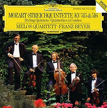 Mozart: String Quintets K. 515 & 516