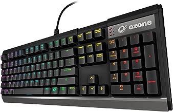 Ozone Strike X30 - OZSTRIKEX30SPRD - Teclado Gaming Mecánico, LED, Color Negro