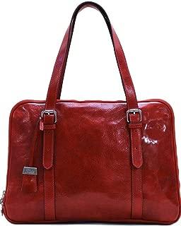 Salerno Women's Leather Business Shoulder Bag Briefcase Messenger Bag