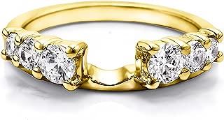 diamond solitaire ring wrap