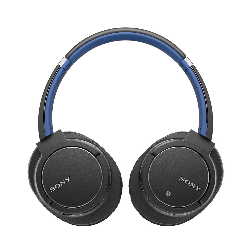Amazon Com Sony Mdr Zx770bn Bluetooth Noise Canceling Headphones Blue New Electronics