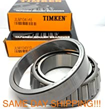 TIMKEN USA JLM104910 / JLM104948 Race and Cone Taper Roller Bearing New