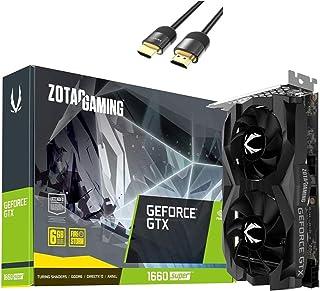 ZOTAC Gaming GeForce GTX 1660 Super Graphics Card, 6GB GDDR6 192-bit, Super Compact, NVIDIA Turing Architecture, 3X Displa...