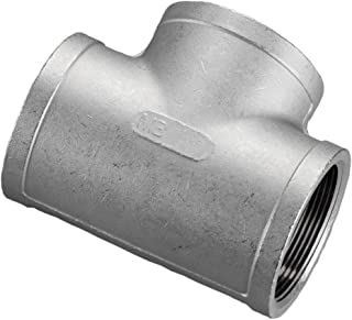 Stainless Steel 316 Cast Pipe Fitting, Tee, Class 150, 1-1/2