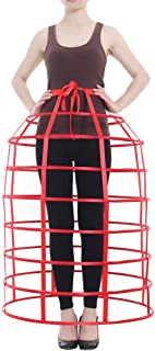 Women's Crinoline Victorian Dress Bustle Dome Cage Skirt