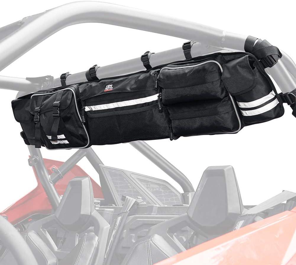 UTV Roll Cage Organizer KEMIMOTO S Rear Cargo Max 89% OFF Upgrade Elegant
