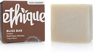 Ethique Eco-Friendly Face Cleansing Bar for Normal-Dry Skin, Bliss Bar - Sustainable Natural Facial Cleanser, Soap Free, P...