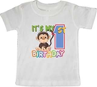 Monkey First Birthday Baby T-Shirt 265da