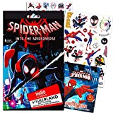 Juego de 4 Hojas de Pegatinas de superhéroe para Fiestas con diseño de Spiderman de Marvel, con más de 100 Pegatinas de Spiderman (Pegatinas de Marvel y Suministros de Fiesta)