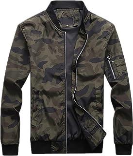 Chunmei Giacca Uomo Manica Lunga Softshell Camouflage Felpa Militare con Cappuccio Outdoor Escursionismo Campeggio Fodera ...