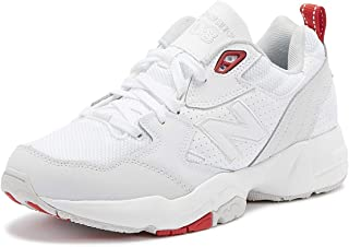 New Balance 708 Womens White/Grey/Red Trainers