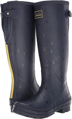 Navy Rain Drops