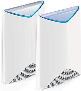 美国网件 (NETGEAR) Orbi SRK60 AC3000M 三频Mesh企业分布式高速路由套装 三个独立SSID高安全WiFi2个装