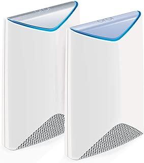 NETGEAR 美国网件 SRK60-100UKS Orbi Pro AC3000商用Mesh Wi-Fi 路由器,无线接入点,2件装