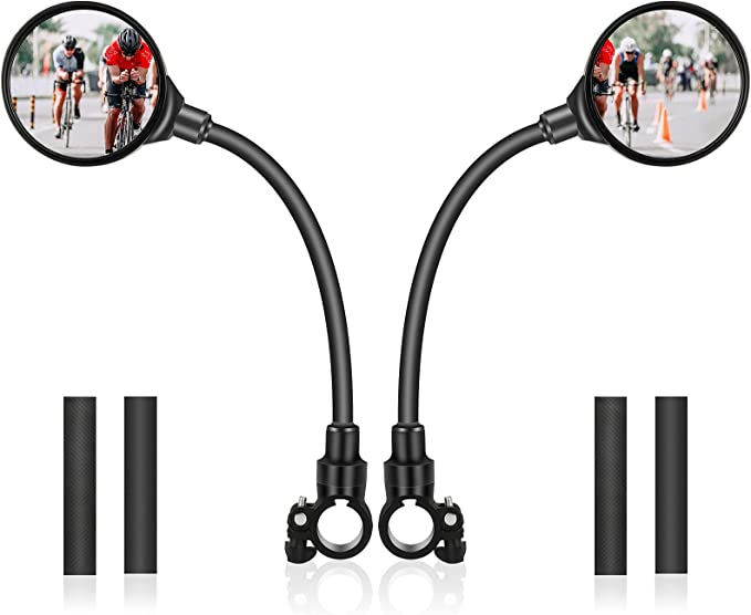 59 opinioni per Yizhet Specchietto Bicicletta, 2 Pezzi Specchietto Retrovisore Bici Girevole a
