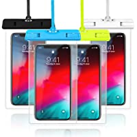 4 Pack Veckle Waterproof Universal Phone Pouch