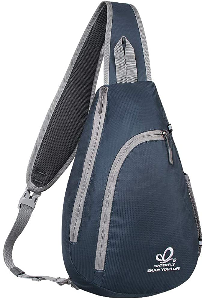 WATERFLY Chest Sling Shoulder Backpacks Rope Tria Ranking TOP13 Bags Crossbody Rare