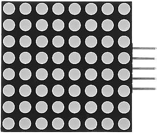 Dot Matrix LED 8x8 Seamless Cascadable Red LED Dot Matrix F5 Display Module For With SPI Interface 5pcs