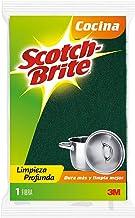 3M Scotch-Brite Fibra Verde, Tamaño Grande