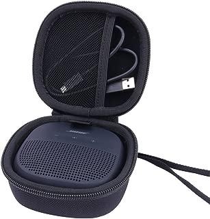 Hard Case for Bose SoundLink Micro Bluetooth Speaker Portable Wireless Speaker by Aenllosi (Black)