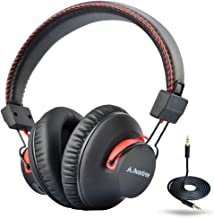 Avantree Audition 40 hr Bluetooth Over Ear Headphones with Microphone for PC Computer Phone Call, aptX HiFi Stereo, Comfor...