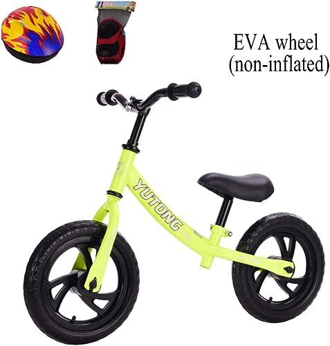 CHRISTMAD 12 '' Balance Bike Erstes fürrad   Verstellbarer Lenker Und Sitzh    Kohlenstoffstahlrahmen   2-6 Jahre   80-120cm  ,E