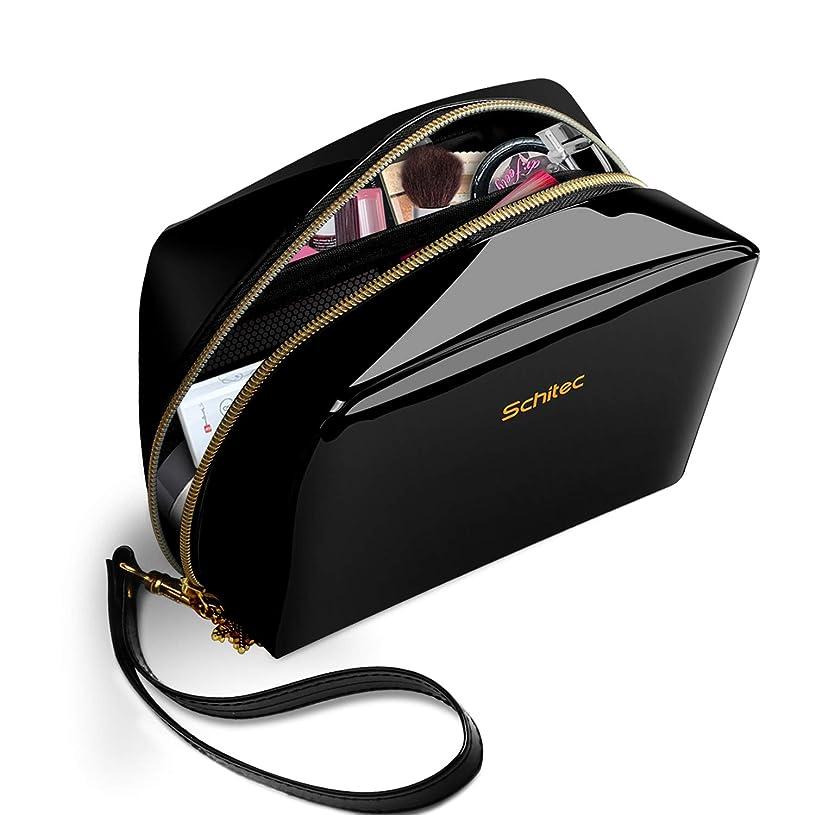 早い相互接続顧問化粧ポーチ メイクポーチ ミニ 財布 機能的 大容量 化粧品収納 小物入れ 普段使い 出張 旅行 メイク ブラシ バッグ 化粧バッグ