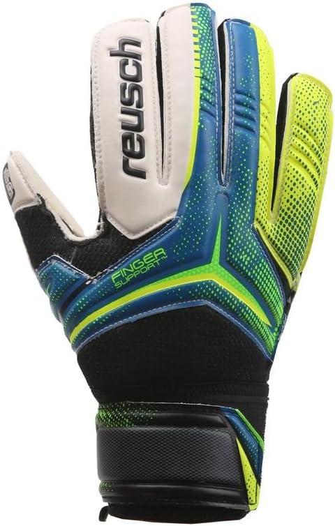 Reusch Translated Goalkeeper Ceptor Sg Finger Ocean Blue Shipping included Support Yel Safety