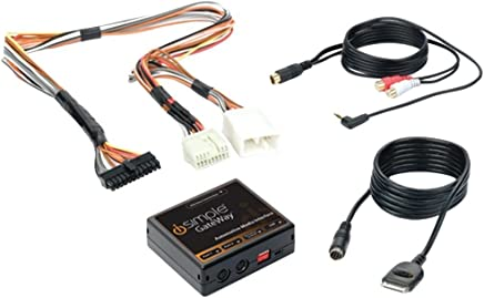 iSimple ISHD571 Gateway Automotive Audio Input Interface Kit for Select 2004-11 Honda and Acura