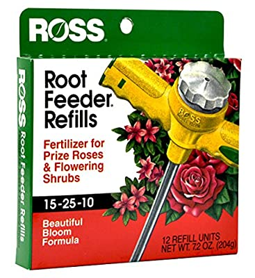 Ross Rose & Flowering Shrubs Fertilizer Refills For Ross Root Feeder