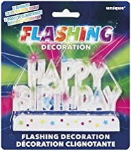 Unique Party Cake Topper Happy Birthday Flashing Decoration