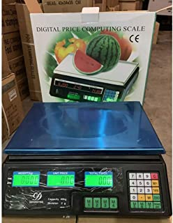 WCX High Precision Digital Electronic Scale Platform Scale Stainless Steel Electronic Price Computing Scales With LCD Disp...