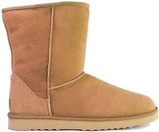 UGG Boots Men Large Size Short Classic,Australia Premium Double Face Sheepskin #15820