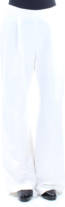 Bar III $70 Womens New 1310 Ivory Wear to Work Pants 2 B+B