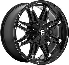 Fuel Hostage Matte Black Wheel (18x9