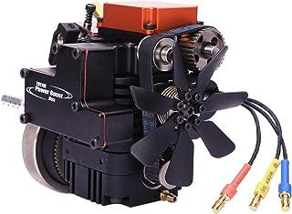 Yamix 4 Stroke Methanol Engine RC Engine Toyan Engine DIY Engine Motor for 1:10 1:12 1:14 RC Car Boat Airplane (FS-S100A)