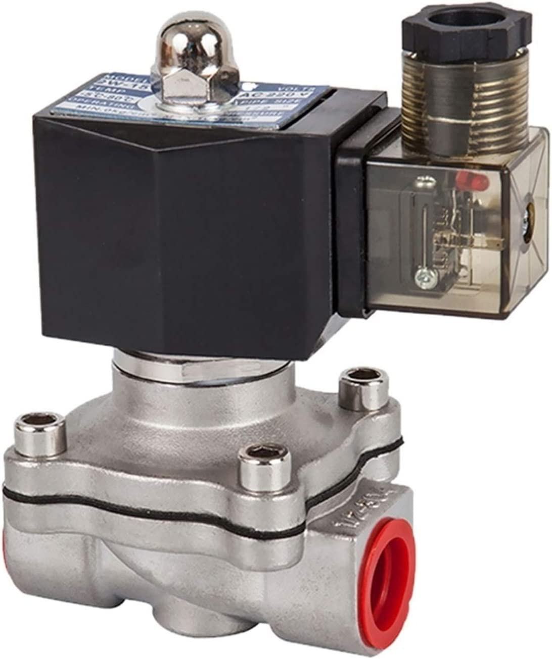 DN15 to 50 Normally Closed Solenoid W 304 Max 62% OFF Industry No. 1 Stainless Steel Valve