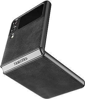 Cresee kompatibel mit Samsung Galaxy Z Flip 3 5G Hülle, PU-Leder Handyhülle Case Schutzhülle Cover für Galaxy Z Flip3 202...