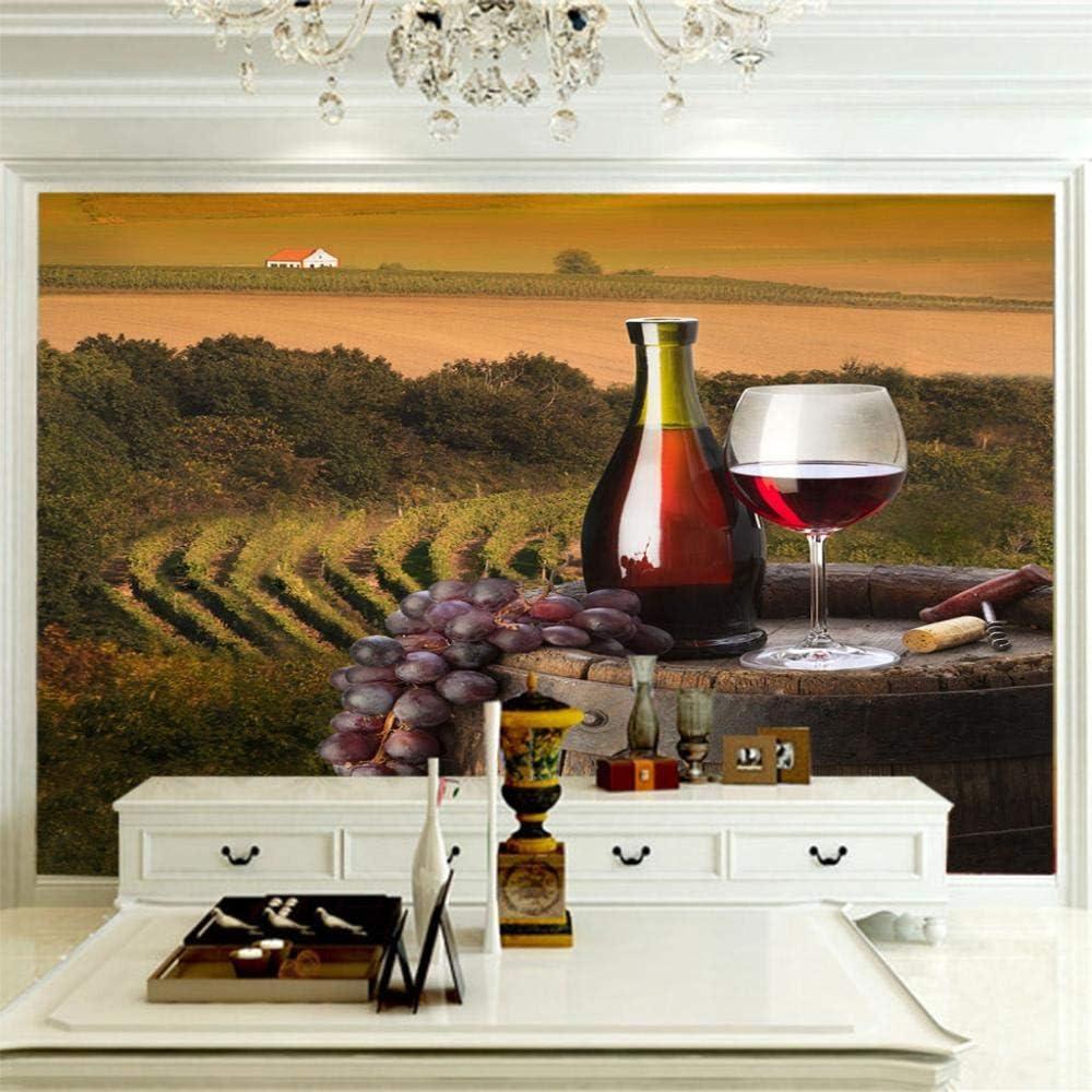 ZCLCHQ 3D Wallpaper Farm Wine Photo W Custom Modern Cash special price Wallpapers Sale