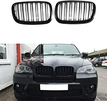 2007-2013 BMW X5 E70 Kidney Grille Black With Chrome Driver Side ...
