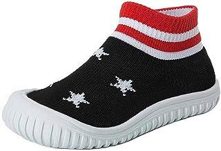 Toddler/Little Kid Slip-on Sneakers Lightweight Baby Walking Shoes