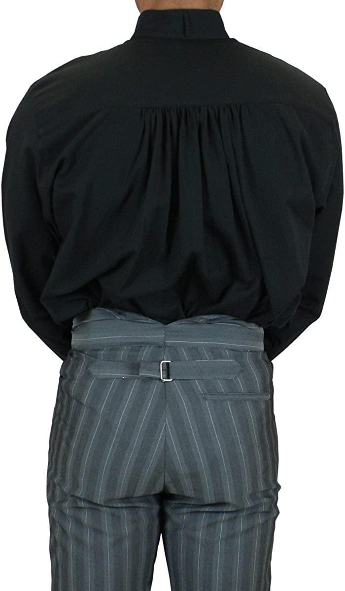 Historical Emporium Men's Victorian Collar Dress Shirt