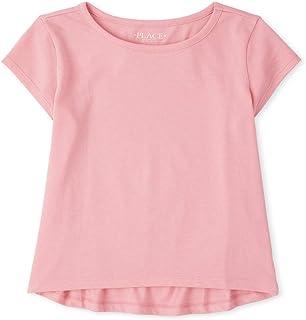 The Children's Place girls Short Sleeve Top Shirt