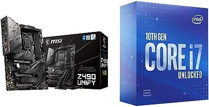 Sponsored Ad - MSI MEG Z490 Unify ATX Gaming Motherboard + Intel Core i7-10700KF Desktop Processor 8 Cores up to 5.1 GHz U...