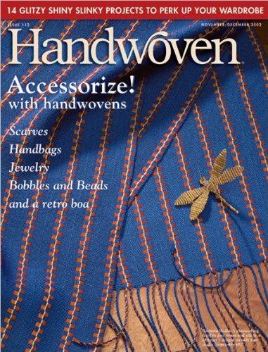 Interweave Handwoven – listopad/grudzień 2002
