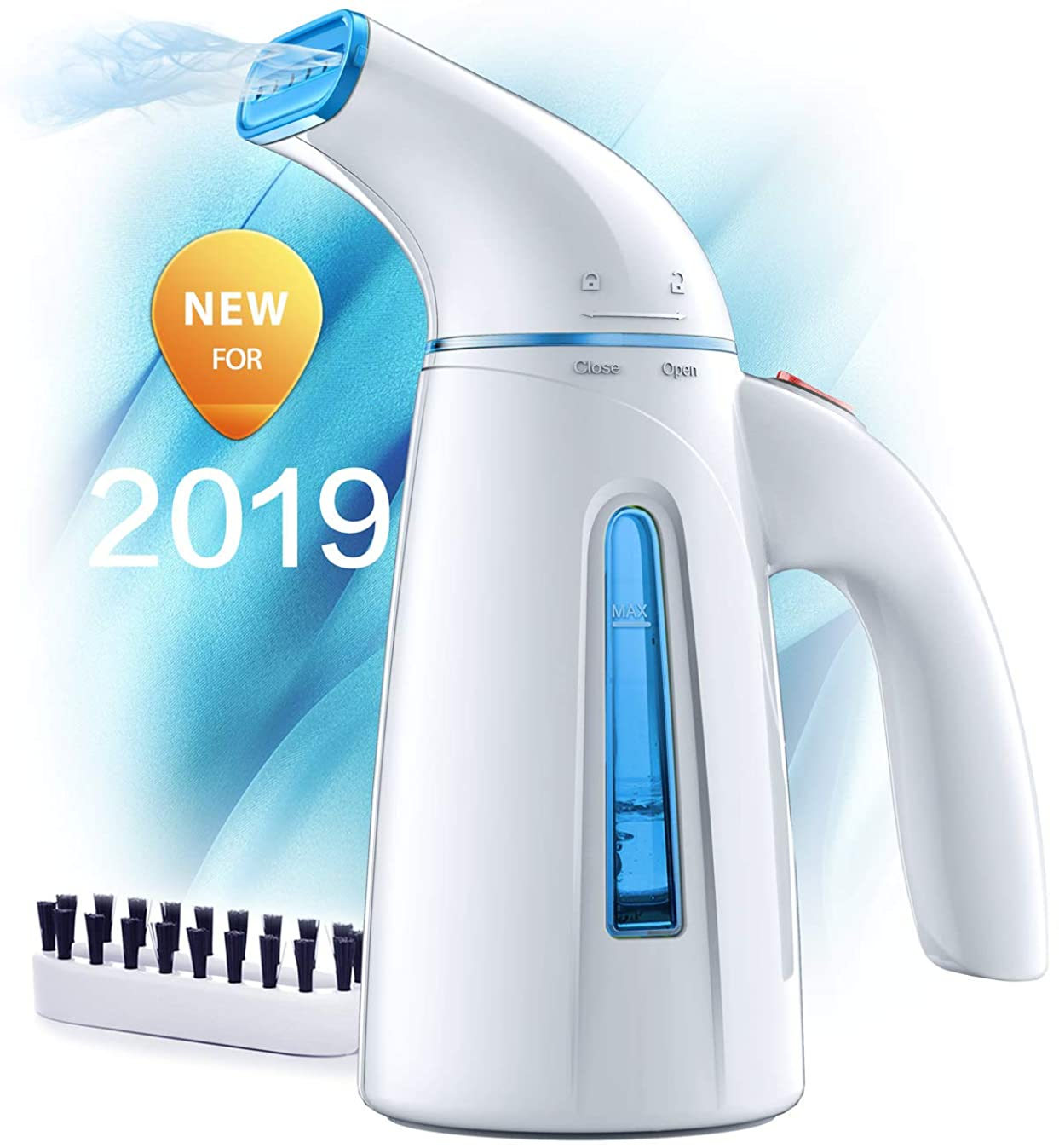 OGHom Steamer for Clothes Steamer, Handheld Clothing Steamer for Garment, 240ml Portable Mini Travel Fabric Steamer for Home and Travel