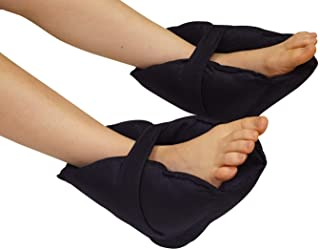Adult Size Heel Cushion Protectors - 1 Pair of Foot and Ankle Pillow Guards - Adjustable and Easy to Put on - Protects from Pressure, Sores and Ulcers to Promote Healing
