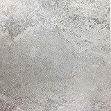[16,61€/m²] Klebefolie in heller Beton-Optik I inkl. Rakel & eBook mit Profitipps I Selbstklebende Deko Folie für Möbel & Küche – hitzebeständig & abwaschbar I Möbelfolie in grauer Beton Stein-optik